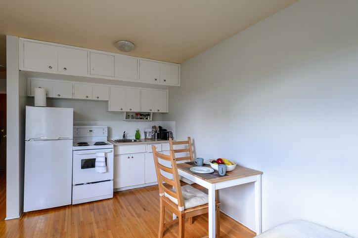 シンプルデザイン冷蔵庫
