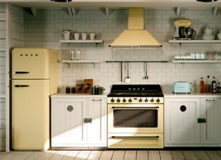 ヴィンテージ感漂うキッチン