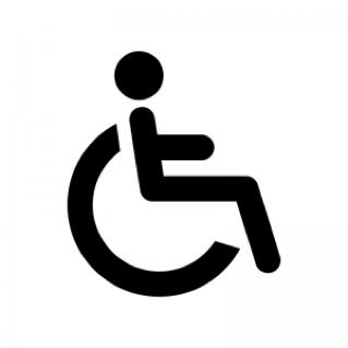 車椅子マークのピクトグラム