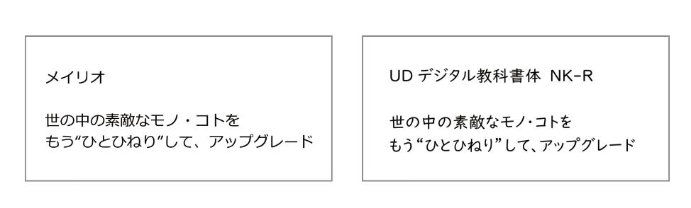 Windowsで使えるユニバーサルデザインフォント