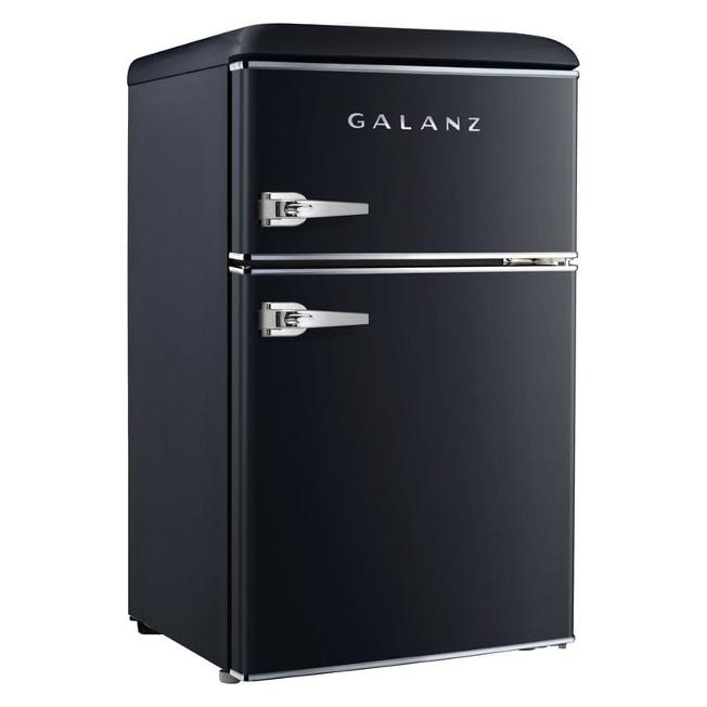 レトロ 冷凍庫付 冷蔵庫 Galanz 3.1 cu ft Retro Mini Fridge